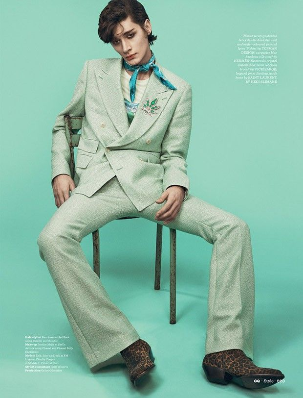 Le Freak C'est Chic by Thomas Cooksey for GQ Style UK
