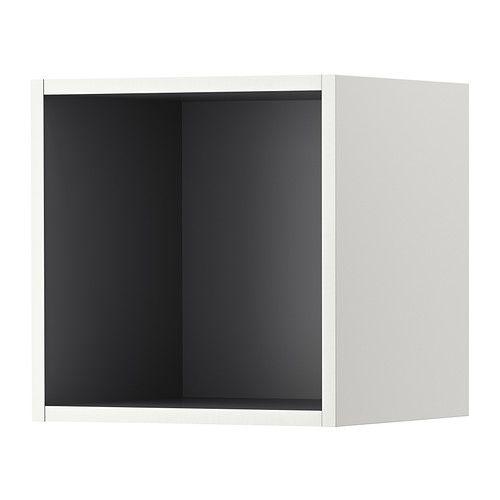 TUTEMO Åpent skap - hvit/grå, 40x37x40 cm - IKEA 4 STK