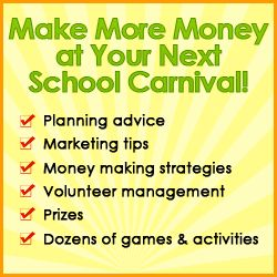 School Carnival Money Making Guide - awesome suggestions and game ideas!