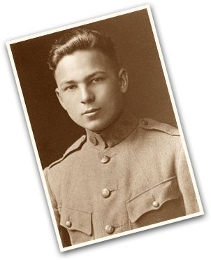 Frank Buckles in the Army at age 16