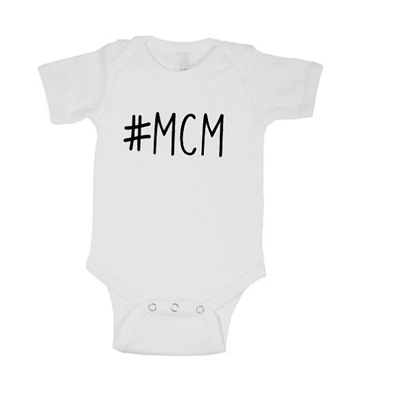 Man Candy Monday Onesie #MCM - Customized Baby Shirt - Quote Baby Outfit - Baby Bodysuit - Baby Onesie - Baby Shower - Newborn Gift
