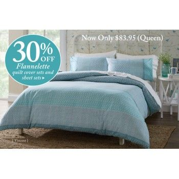 SAVE 30% OFF on FLANNELETTE @ Bed Bath n` Table - Bargain Bro