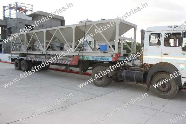 Feeder unit ready for transportation to construction site