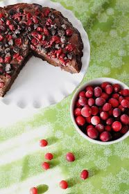 The Noble Wife: Dark Chocolate Cranberry Bars, aka the Perfect Christmas Dessert