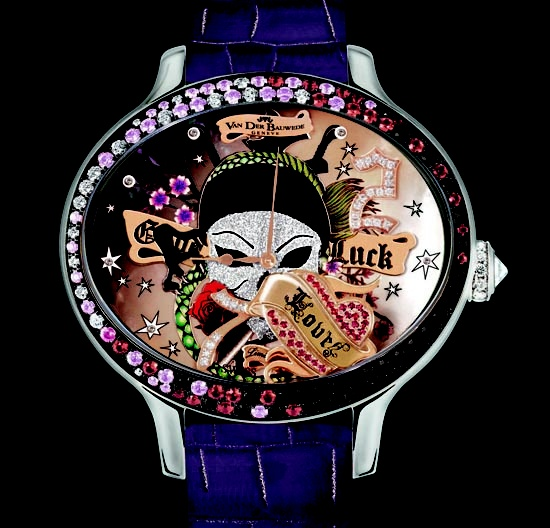 Pink's Van Der Bauwede Good Luck watch to be auctioned