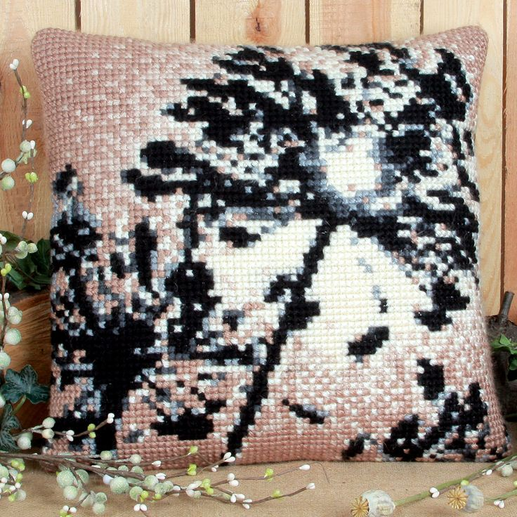 'First Light' Cross Stitch Cushion Kit by Twilleys of Stamford.