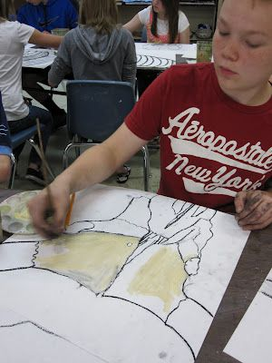 MS Artists Study Bones with O'Keeffe: Ms Artists, Study Bones, Art Lessons O'Keef Skull, Art O' Keeff, Skull Study, Artists Study, Art Ideas, Art Education, Art Projects