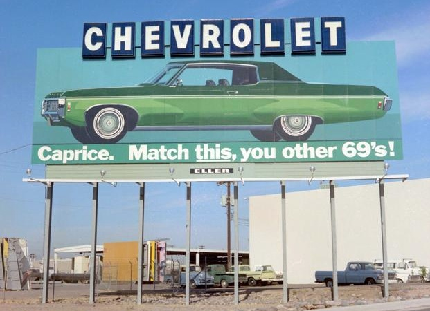 1969 Chevy CapriceAwesome 1969, Chevy Caprice, Caprice Billboard, Cars, 1969 Chevy, 69S, Signs Billboard, Chevy Billboard, Billboards Advertising