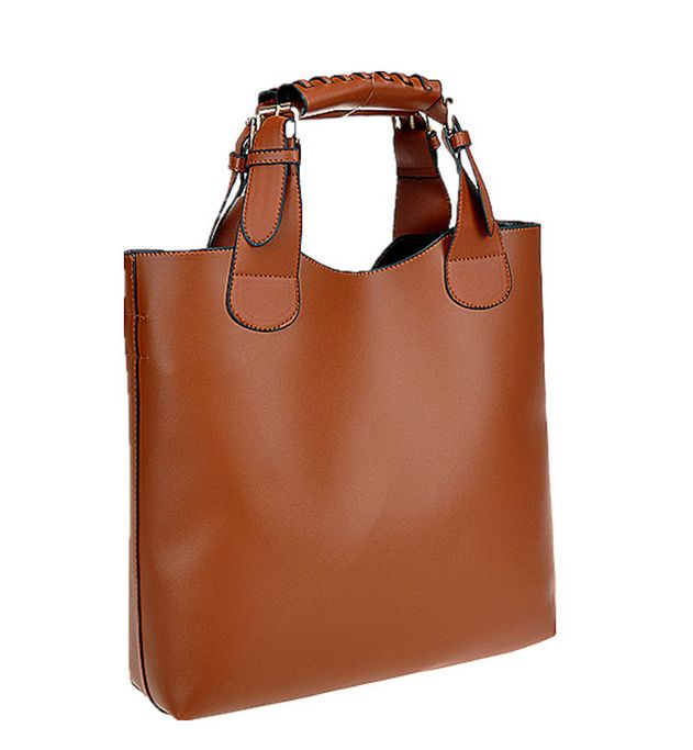 Barato Hot New Vintage 2014 mulheres couro genuíno bolsas de marca Totes…