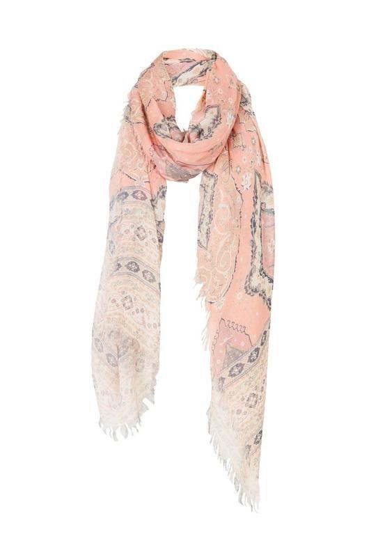Cashmere Silk Scarf - Anais Bud by VIDA VIDA YRYFLy0pu