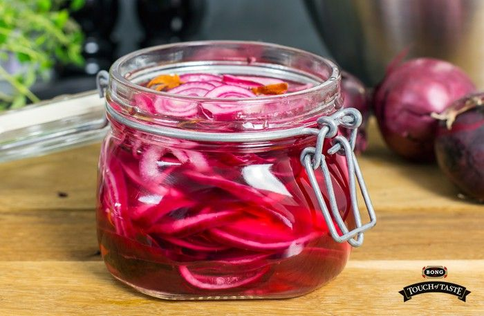 Picklad rödlök – godaste tillbehöret till grillat