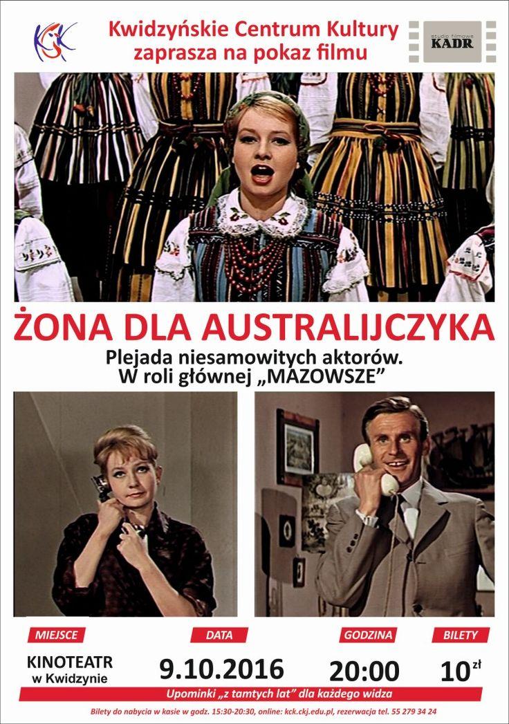 """Pokaz filmu """"Żona dla Australijczyka"""", 9.10.2016 r."""