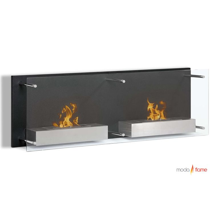 Regal Flame Mora 47 Inch Ventless Wall Mounted Bio Ethanol Fireplace Ethanol Fireplace Wall Mounted Fireplace Ventless Fireplace