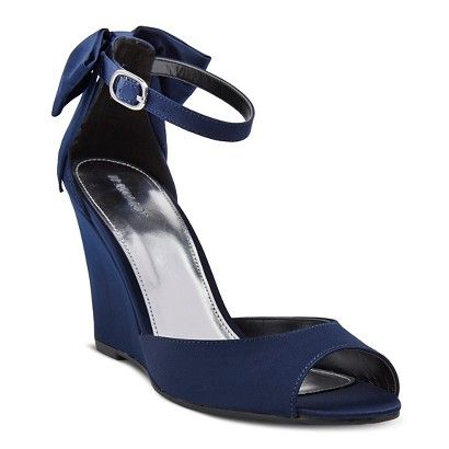 Women's Tevolio Wedge Dress Sandal - NAVY