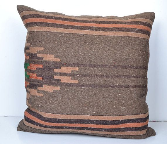 Throw Pillow Warehouse : 24Turkish cushion throw pillow kilim pillow by KissPillows on Etsy Warehouse Pinterest ...