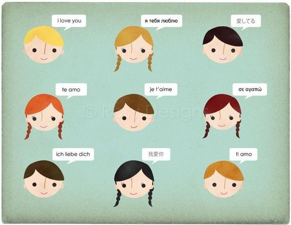 """9 ways to say """"i love you"""""""