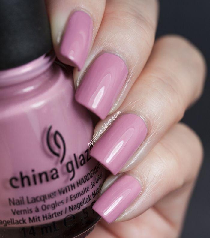 China Glaze Pinkie Promise, 2 coats.