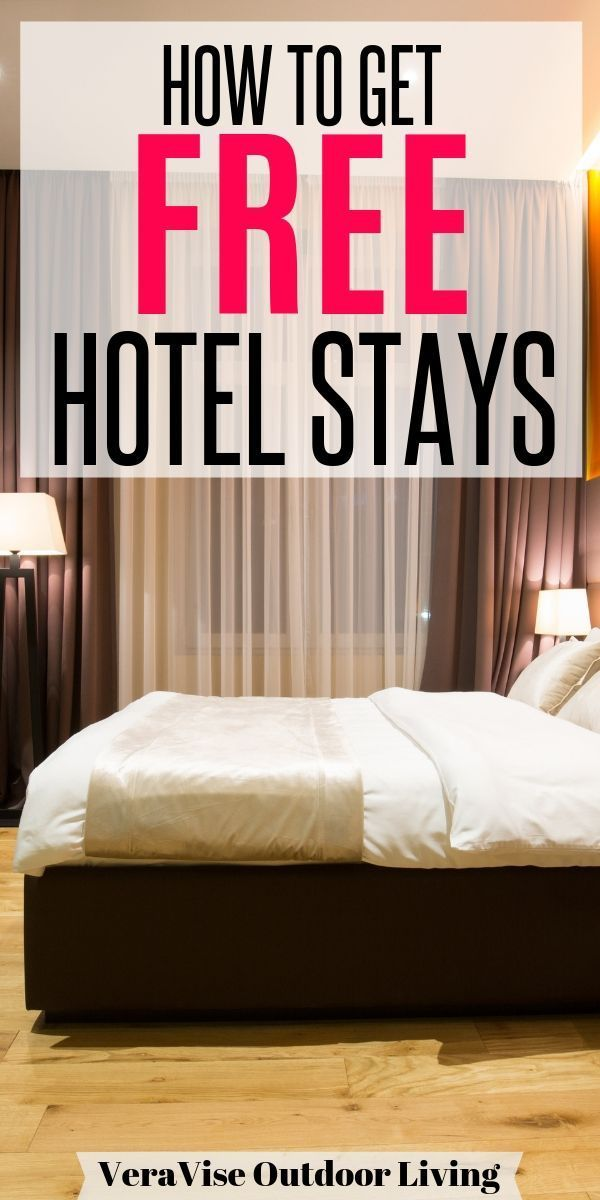 Did You Know That You Can Actually Stay In A Hotel For A Week For Free Learn How To Get Free Hotel Rooms Hotel Suite U Free Hotel Stay Hotel Hacks