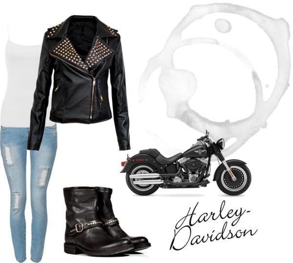 """Biker Chic"" by adira-99 on Polyvore"