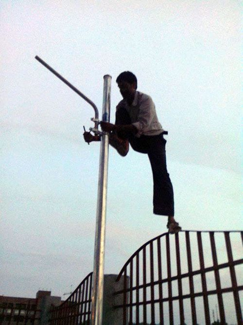 #Solar_Panels #Solar_Energy_Project Success Story / Case Study - Solar Energy Project - Solar Panels installed by Perfect Aurarays in Greater Noida Park3, Uttar Pradesh, India. http://www.aurarays.com/projects/solar-project-greater-noida-park3.aspx