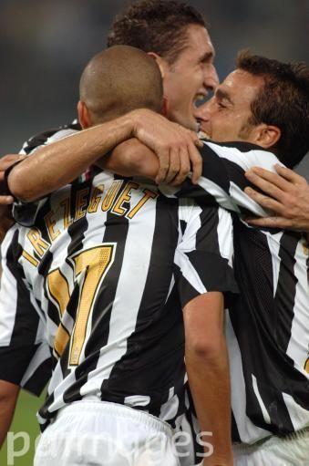 David Trezeguet, Cannavaro and Chiellini