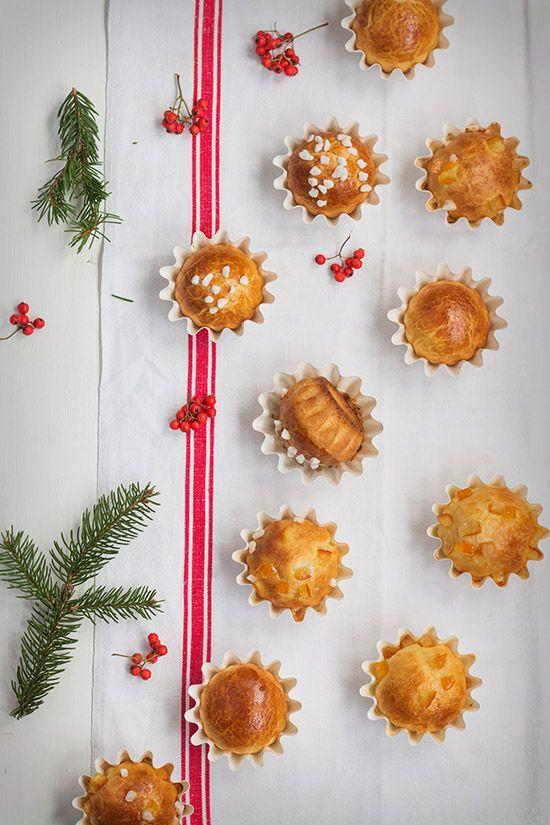 Bolitas de Roscón de Reyes. Receta de Navidad
