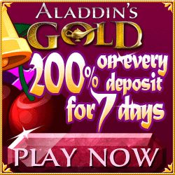 Win Cash Today Playing In The Aladdin's Gold Treasure Thursday Unlimited Slots Bonuses. Aladdin's Gold  US Casino Review & Unlimited Slots Bonuses Codes.