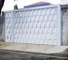 Resultado de imagem para preço de portão de garagem de ferro