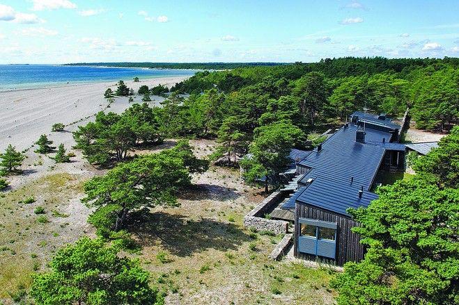 Ingmar Bergman's house on Faro Island