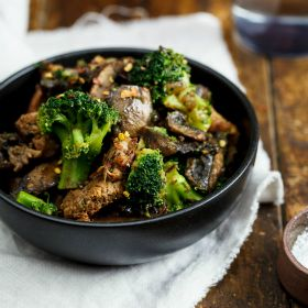 Beef+&+Broccoli+stir+fry