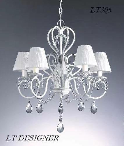 lustre pendente provençal cristal asfour  -  66cms - lt305