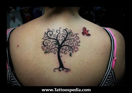 Small tree of life tattoos for women tree memorial for Small memorial tattoos