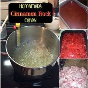 Easy Cinnamon Rock Candy Recipe OH my goodness! My friend just shared with me herEasy Cinnamon Rock Candy Recipe and I can't wait to try it! Your house will smell amazing in the process! This recipe fits perfectly with our homemade gift ideas and I just had to share her work! (Thanks April!) SheContinue Reading...