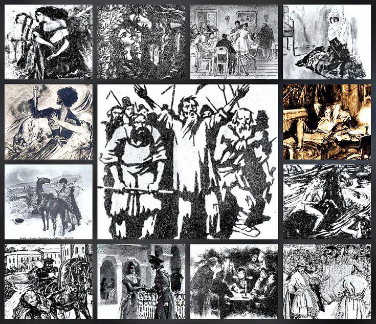 """Команда """"Group (4G)"""" создал еще один интерактивный плакат """"Лермонтовские герои - знакомые и незнакомые"""""""