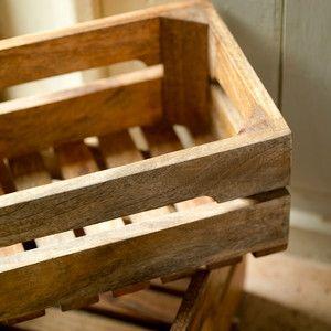 Ahanti Mango Wood Storage Box, 28€, now featured on Fab.