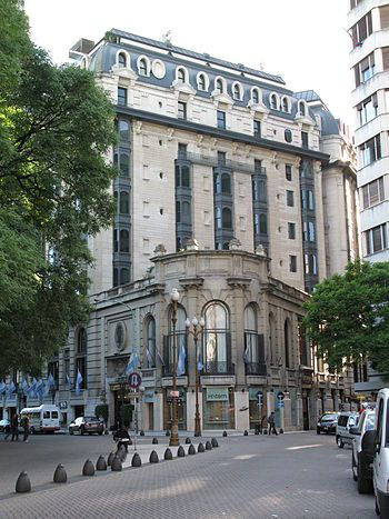 Hotel Paza. Plaza San Martin, Buenos Aires Argentina