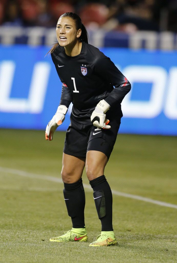 Hope Solo, Sept. 13, 2014. (George Frey/Getty Images)