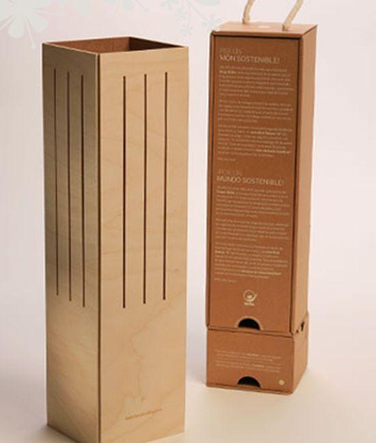 wine case lamp #packaging