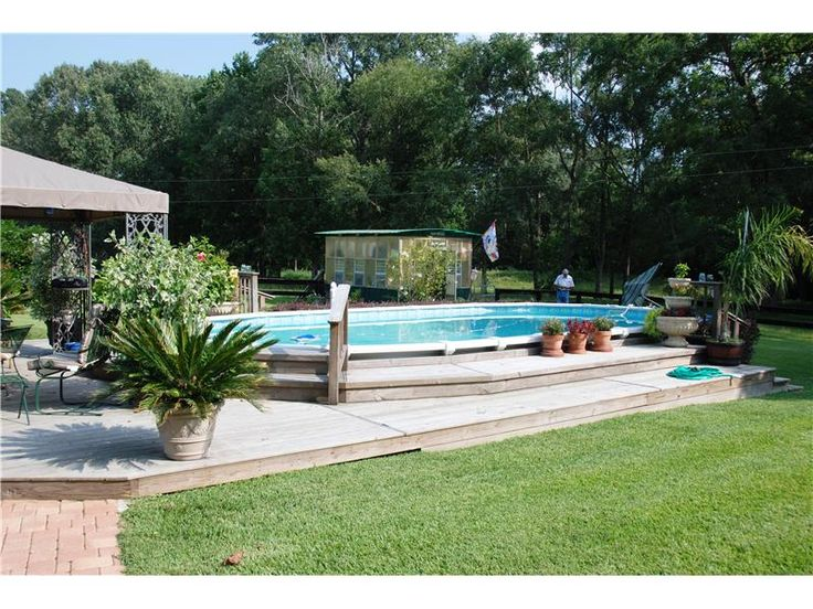 17 Best Images About Above Ground Pool Ideas On Pinterest Decks Ground Pools And Decking