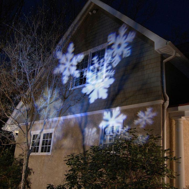LumaBase Snowflake LED Projector Light 3-piece Set