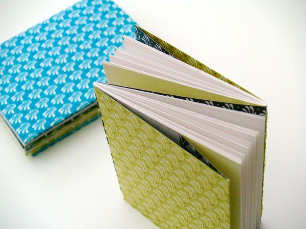Studio Neeltje   notebook pattern design. Handbinded by @Prien