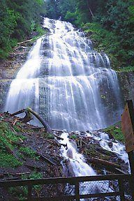 Bridal Falls, just between Chilliwack and Hope BC