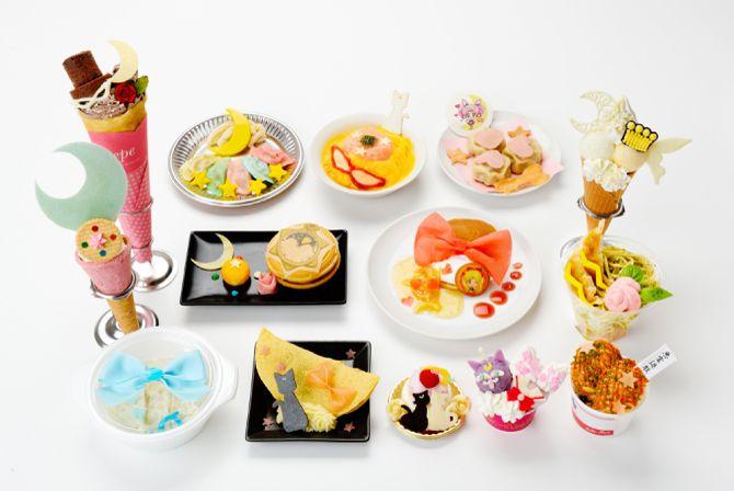 """sailor moon"" ""sailor moon crystal"" ""sailor moon toys"" ""sailor moon merchandise"" ""namja town"" tokyo japan anime shop cat kitty 2015"
