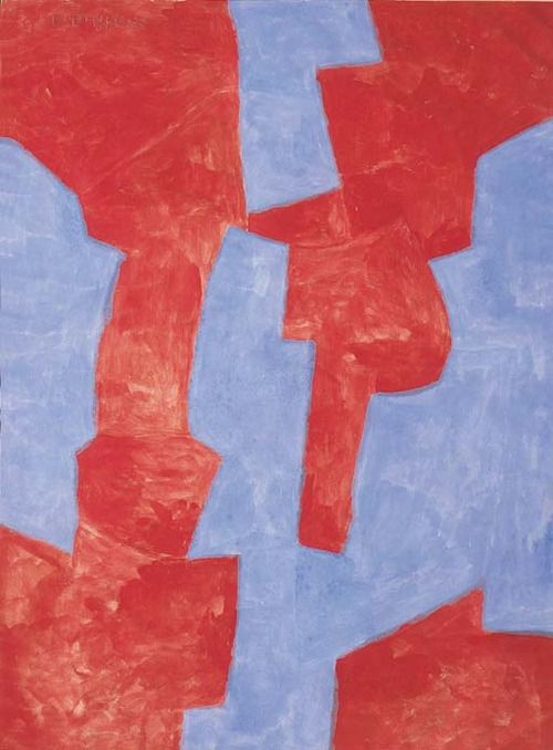 blastedheath: Serge Poliakoff (French-Russian, 1900-1969),...