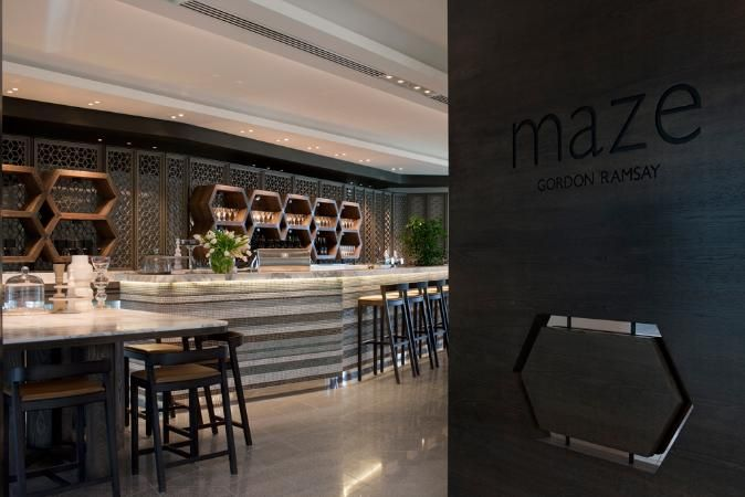 Maze Restaurant - Gordon Ramsey |  Gallery | Australian Interior Design Awards