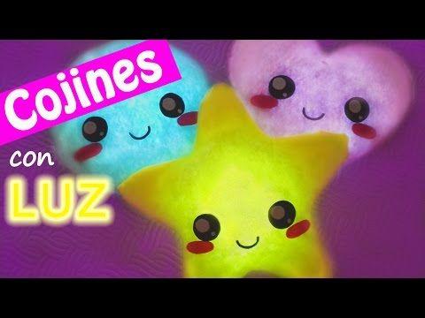 Manualidades: COJINES con LUZ - Innova Manualidades - YouTube