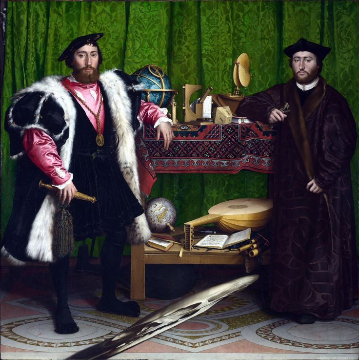 Hans Holbein's The Ambassadors - always stuck in my mind