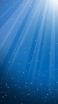Niebieska poświata
