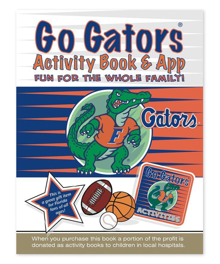 Florida Gators Activity Book & App Kids activity books