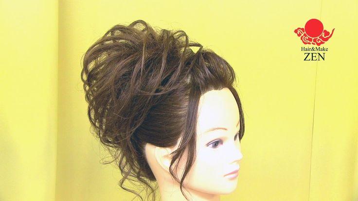 【春夏ポンパ】モヒカンアレンジの作り方☆ZENのヘアセット62
